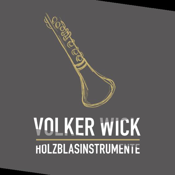 Volker Wick Holzblasinstrumente Logo